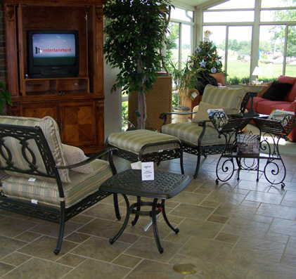 Home | About Us | Four Seasons Sunrooms | More Home Products | Furniture/accessories  | Faq | Contact Us